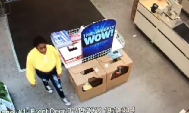Exmore Police trying to track down credit card thief