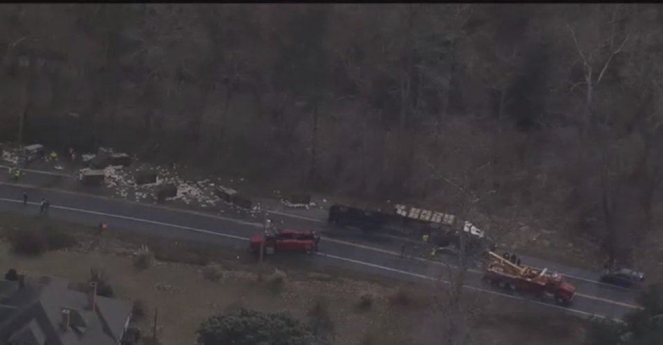 Virginia woman dies in accident involving tractor trailer hauling chickens