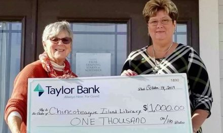 Chincoteague Library receives challenge Grant