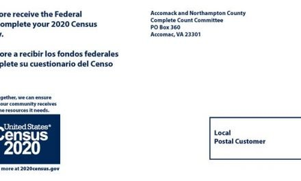 Census post cards to be sent to Eastern Shore residents