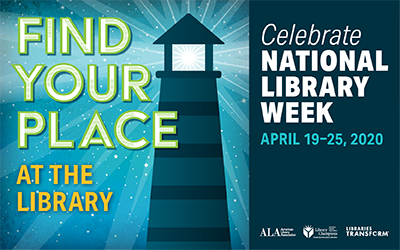 Find the library at your home during National Library Week