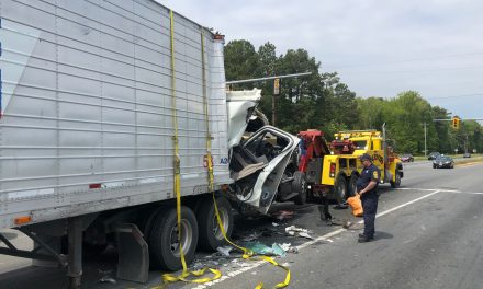 Accident involving tractor trailer blocks Route 13 traffic in Keller