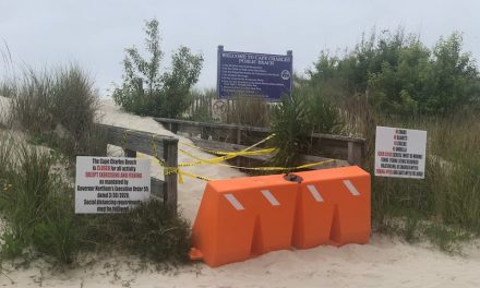 Despite Northam's order, Cape Charles Beach remains closed