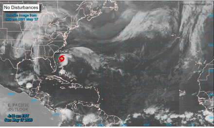 Eastern Shore to Feel Some Effects of Tropical Storm Arthur