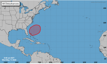 National Hurricane Center predicting tropical activity this weekend