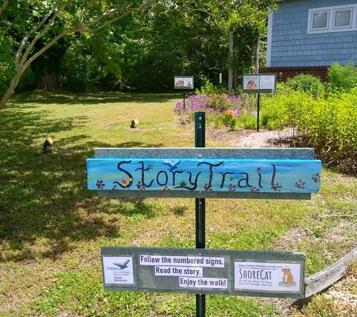 ESPL installs First Story Trail