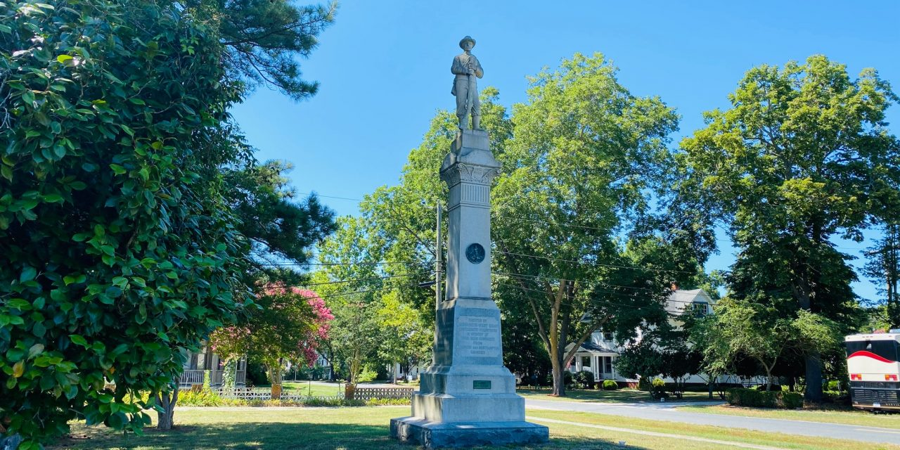 Parksley discovers it does not own Confederate Statue