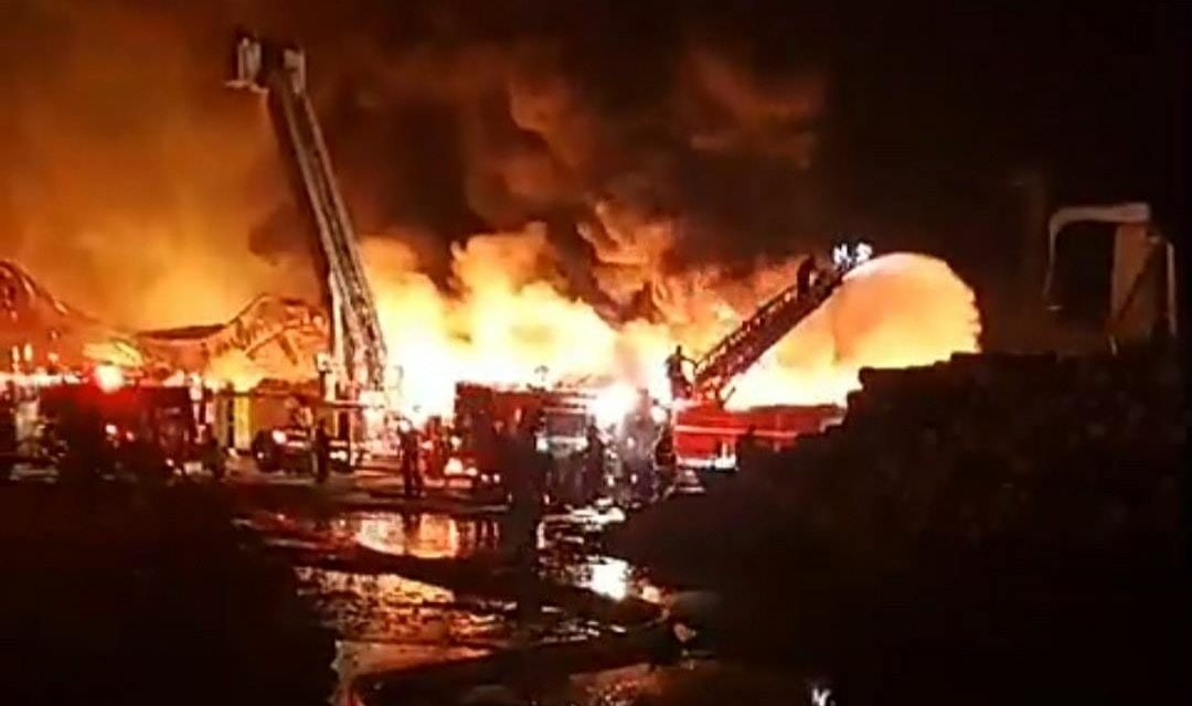 Building at Eastern Shore Wood Products destroyed by fire Friday night