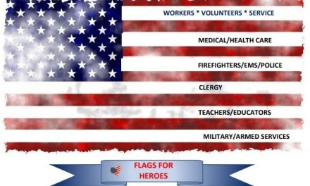 E.S. Literacy Council selling American Flags to honor Nation's fallen heroes