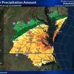 National Weather Service revises rainfall prediction totals