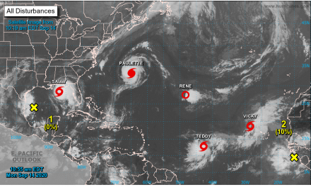 National Hurricane Center tracking 8 systems