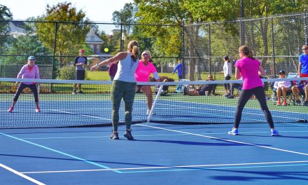 Pickleball tournament raises funds for Toys for Tots Program