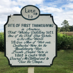 The first Thanksgiving occurred in Virginia, not Massachusetts