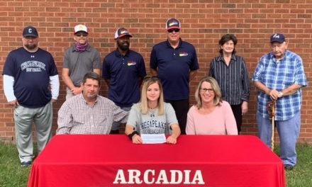 McDaniel signs letter of intent with Chesapeake College