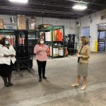 Virginia's First Lady visits the Eastern Shore