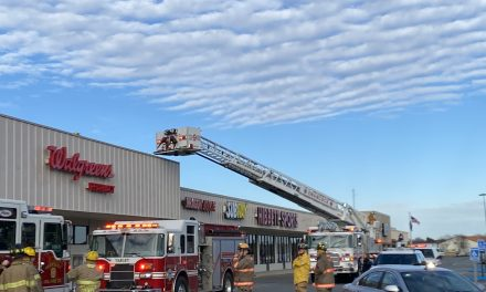 Fire at Walgreens reported Wednesday afternoon
