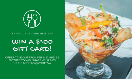 Win a $100 gift card for eating out in February with the ESVA Tourism Commission