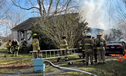 Hallwood house severely damaged in Saturday morning fire