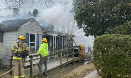 Fire heavily damages Savageville Rd. home