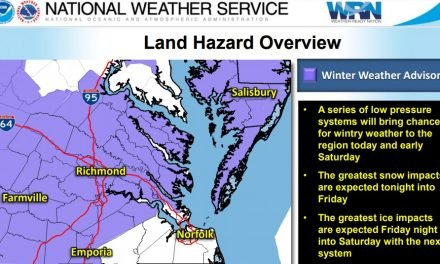 Winter Weather Advisory in effect until noon Friday
