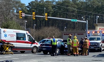 Accident blocks traffic on Route 13 in Onley