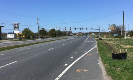 Right-turn lane to close on Route 13 north at Stone Road in Northampton County