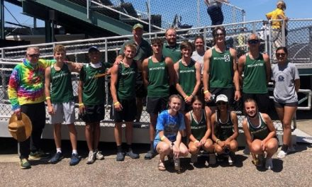 Broadwater competes at State Track and Field Meet