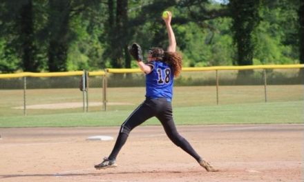 Yellow Jackets' Mollie Travis pitches perfect game