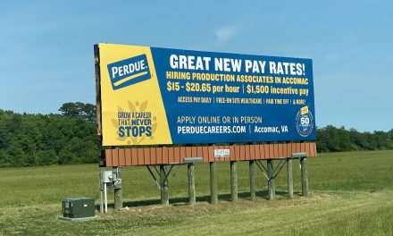 """At Accomac Perdue, """"hundreds of jobs"""" starting at $15 per hour"""