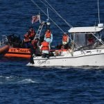 Coast Guard assists sinking boat with 4 people aboard 32 miles off Wachapreague
