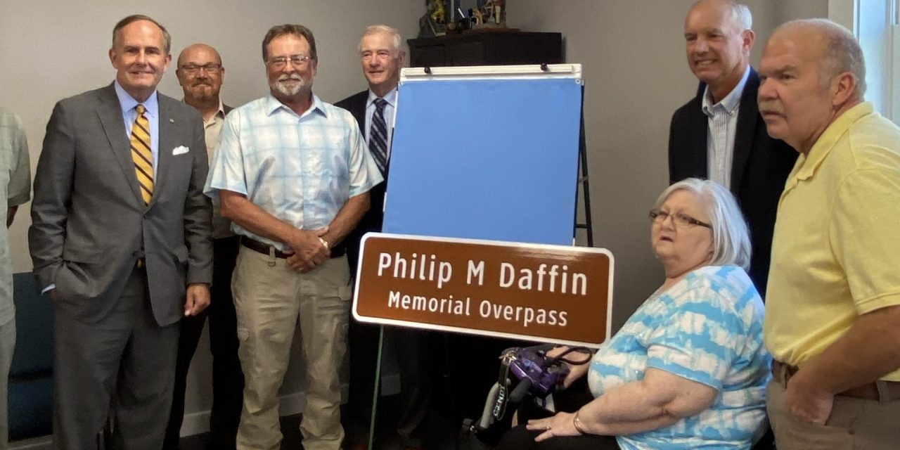 """Former """"Tasley"""" overpass rededicated on Thursday"""