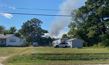 Control burn gets out of control in Eastville Monday